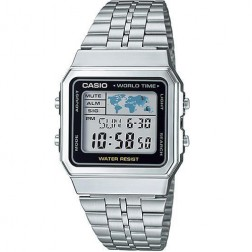 Casio Collection A500WA-1DF Mens Watch Chronograph