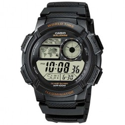 Casio Collection AE-1000W-1AVDF Mens Watch Chronograph