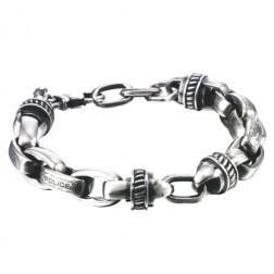 Police Motive Mens Bracelet PJ.22257BSS/01