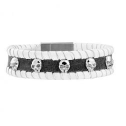 Police Spirit Mens Bracelet PJ.24410BLGR/01-L