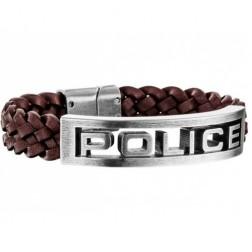 Police Stamp Mens Bracelet PJ.25489BLC/02-S
