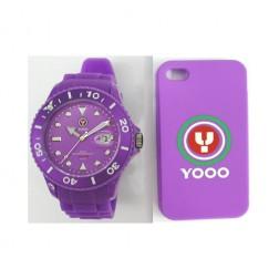 YOOO Gents Purple YW0008 Mens Watch